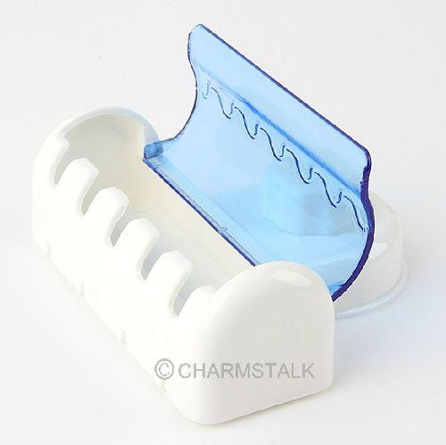 Gartenmobel Bei Toom Baumarkt : 5er Zahnbürstenhalter Zahnbürste Plastik Wand Halter Saugnapf mit