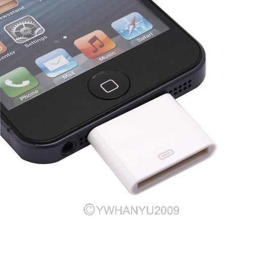new adapter converter dock for samsung apple iphone 4 to. Black Bedroom Furniture Sets. Home Design Ideas