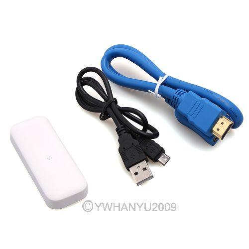 hdmi san fil ipush dlna dongle airplay wifi receiver pour