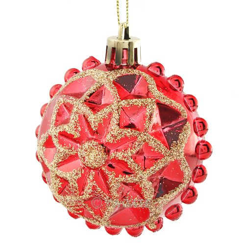 New hot 4pcs christmas tree xmas ball decorations baubles for Engagement christmas tree ornaments